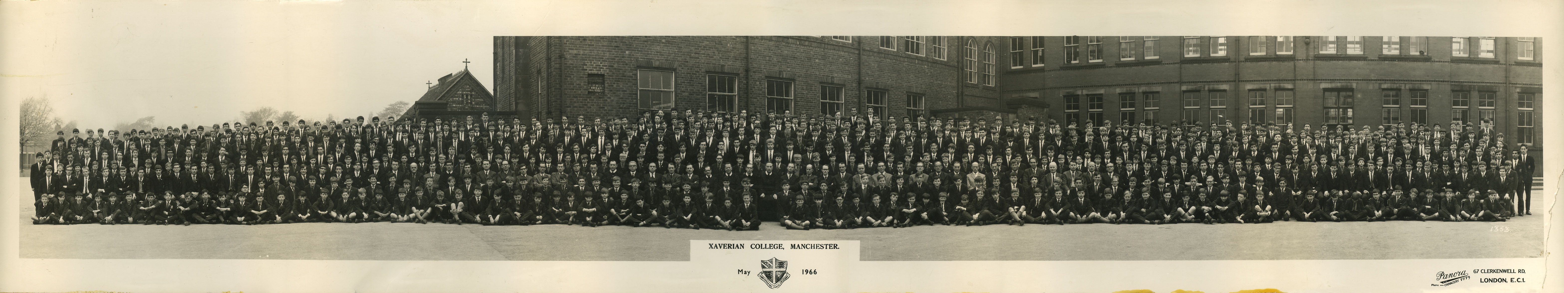 Xaverian College school photograph - May 1966