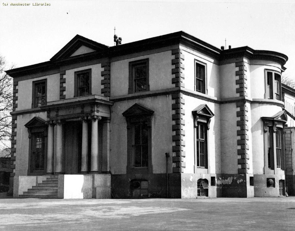 Ward Hall, Victoria Park.